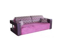 Розовый прямой диван Прадо