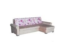 Угловой диван с цветами Кершоу Люкс